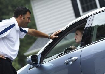 teaching autistic adolescents to drive